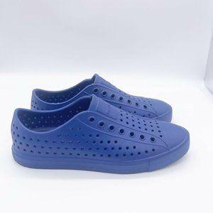 Native Jefferson Shoes Royal Blue Men 5/women 7